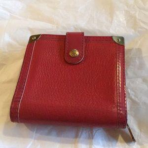 Authentic Louis Vuitton Red Wallet